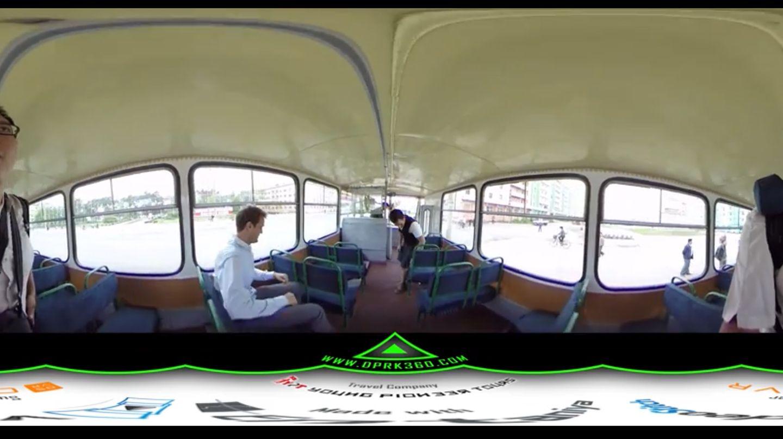 360-Grad-Ansicht Bus-Nordkorea