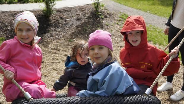 Alltag im Montessori Kindergarten