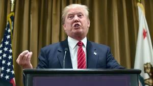 US-Präsidentschaftsbewerber Donald Trump