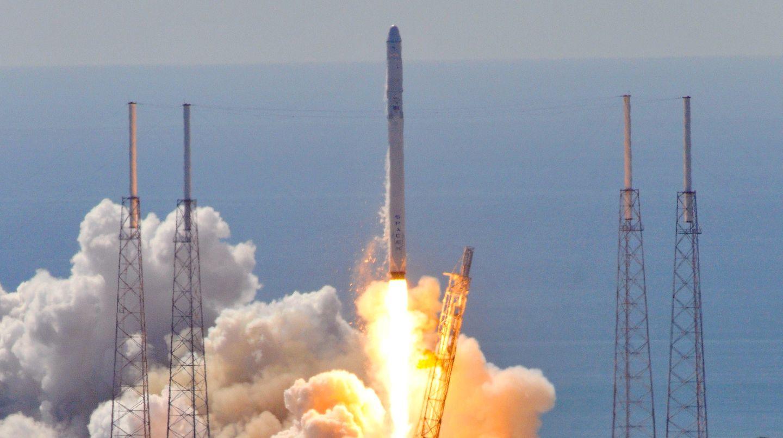 Die unbemannte Falcon-9-Rakete der Firma SpaceX war kurz nach dem Start vom Weltraumbahnhof Cape Canaveral explodiert