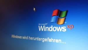 Windows XP ist auch von der aktuellen Sicherheitslücke betroffen