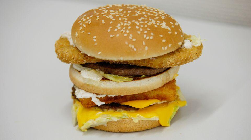 Der Land-Sea-Air-Burger
