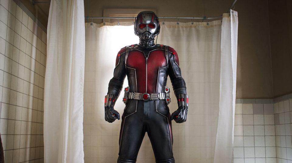 "Szene aus dem neuen Marvel-Film ""Ant-Man"""