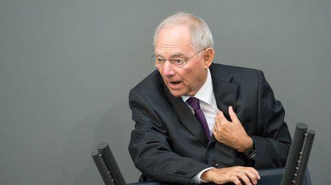 Wolfgang Schäuble hat wiederholt einen zeitweisen Grexit ins Spiel gebracht
