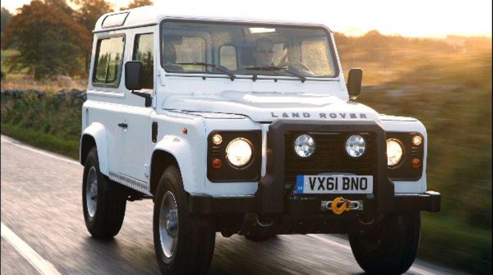 Der Land Rover Defender darf noch weiter fahren