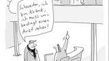 Cartoonbuch - Wortwitze: Der kann in den Speermüll