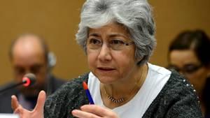 """Trat aus """"gesundheitlichen Gründen"""" zurück: Flavia Pansieri, stellvertretende UN-Hochkommissarin für Menschenrechte"""