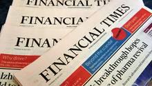 """Zukünftig in japanischem Besitz: die """"Financial Times"""""""