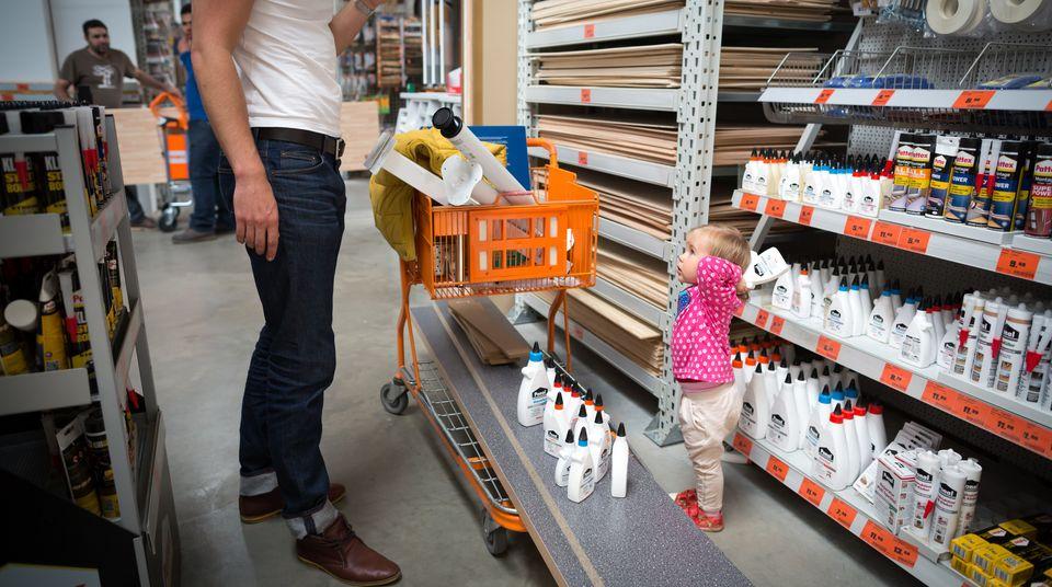 stern-Reportage aus dem Baumarkt: Ein Besuch im Spielzeugparadies für Erwachsene