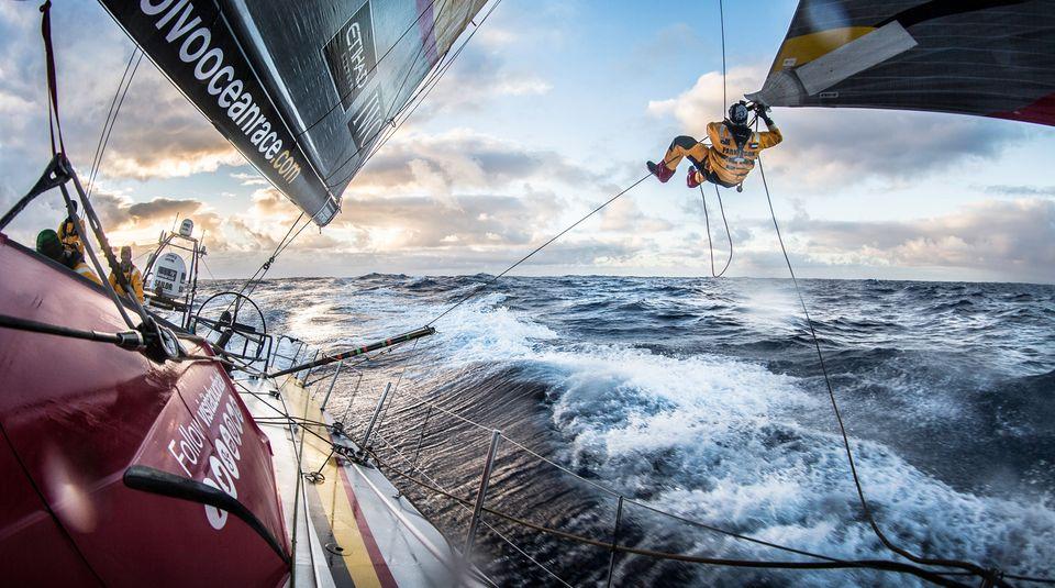 Volvo Ocean Race: Durch die nasse Hölle