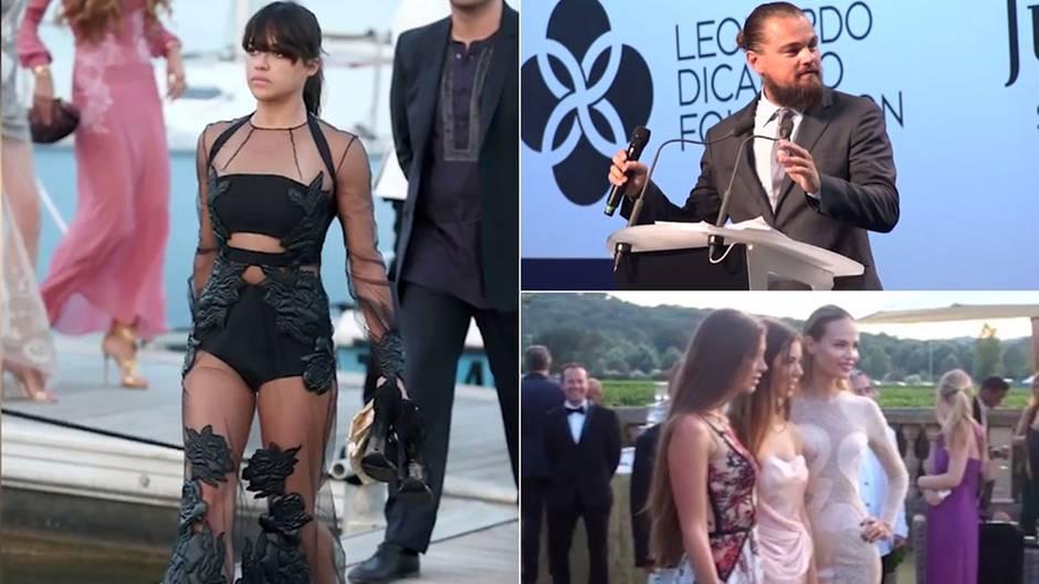 DiCaprios Spendengala: Viel nackte Haut für den guten Zweck