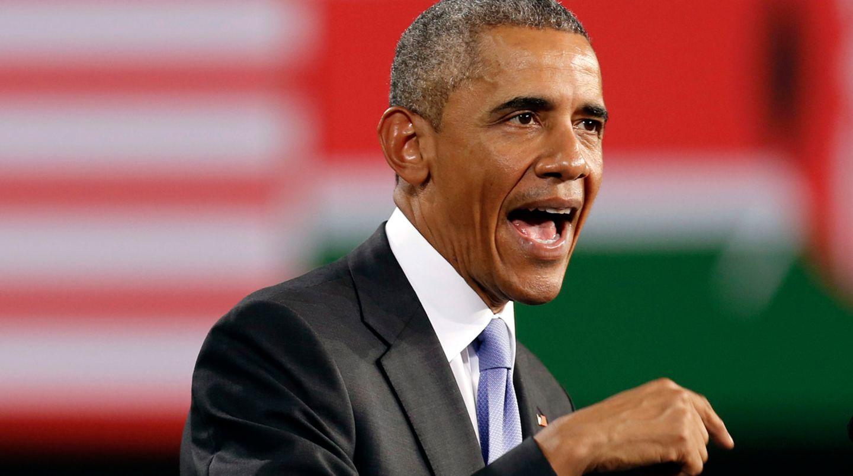 """""""Kenia ist an einem Scheideweg - ein mit Risiken aber auch mit enormen Versprechen gefüllter Moment"""": US-Präsident Barack Obama redet den Kenianern mit offenen Worten ins Gewissen."""
