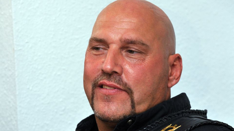 Früherer Hells-Angels-Chef Frank Hanebuth im Portrait