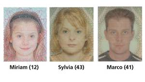 Mit diesen Fotos sucht die Polizei nach der verschwundenen Familie Schulze