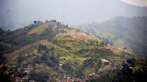 """Auf der Müllhalde """"La Escombrera"""" sollen Dutzende Leichen verscharrt worden sein"""