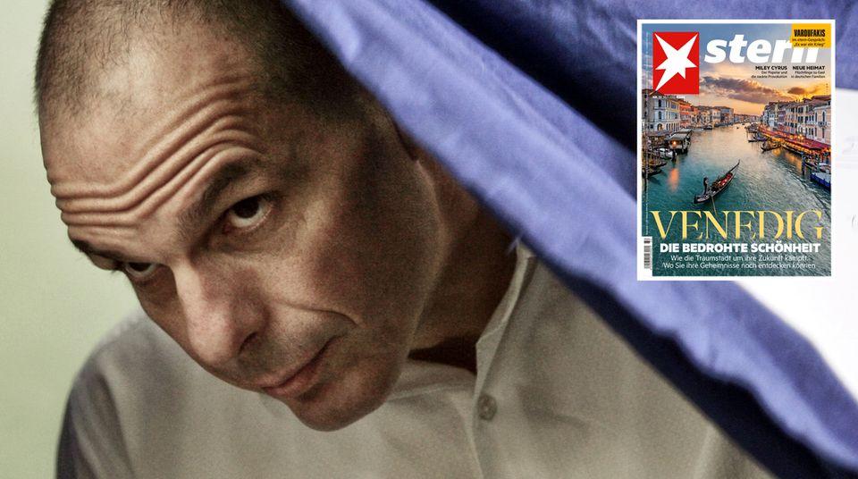 Yanis Varoufakis erzählte demsternauch Details aus seiner Familiengeschichte