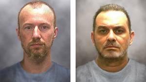 Die Mörder David Sweat (l.) und Richard Matt (r.)