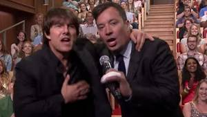 Tom Cruise und Jimmy Fallon