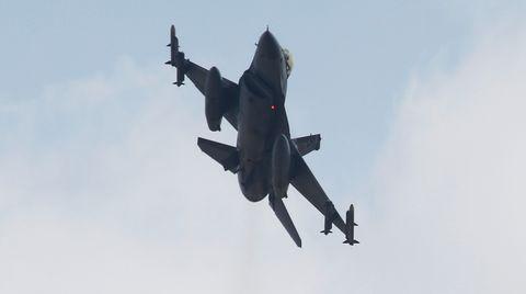 Mit Kampfflugzeugen griff die Türkei erneut Stellungen der PKK an
