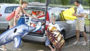 Für Kinder ist eine Autofahrt anstrengend