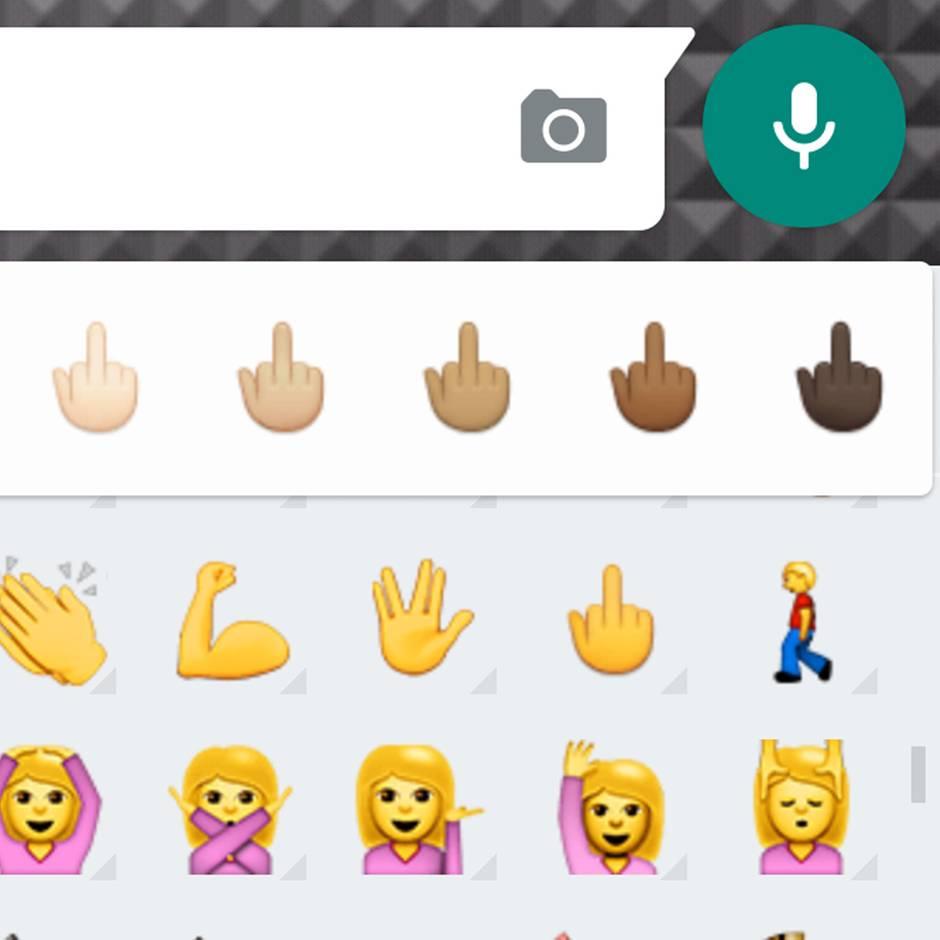 Mittelfinger-Emoji: So aktivieren Sie es in Whatsapp | STERN de