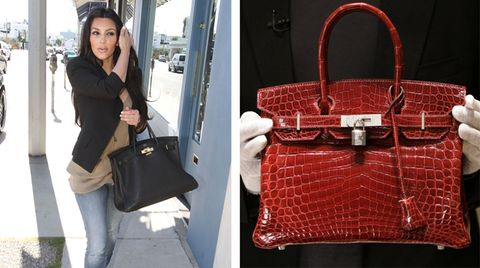 Unterarm anwinklen, Birkin Bag anhängen. Prominente wie Kim Kardashian schwören auf die Luxustasche von Hermès.