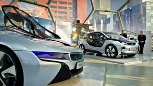 Ein Elektroauto von BMW könnte als Basis für das Apple-Auto dienen