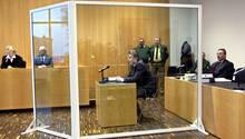 Michael W. im Glaskasten vor Gericht