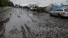 Wacken Open Air trotz starker Regenfälle gestartet