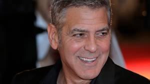 George Clooney ist in der Ukraine gern gesehen