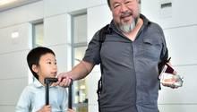 Ai Weiwei und sein Sohn