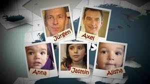 Jürgen und Axel Haase sind Eltern von drei Mädchen.