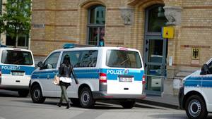 Die Wache der Bundespolizeiinspektion in Hannover