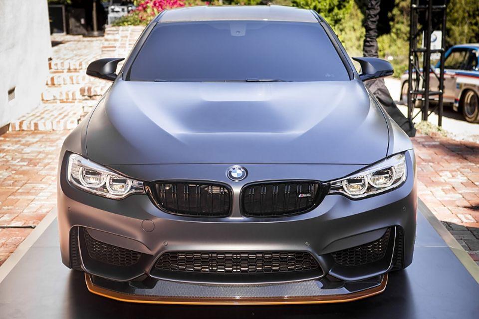 BMW M4 GTS Concept in Pebble Beach