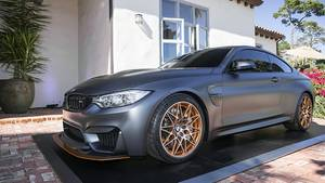 BMW M4 GTS Concept in Pebble Beach