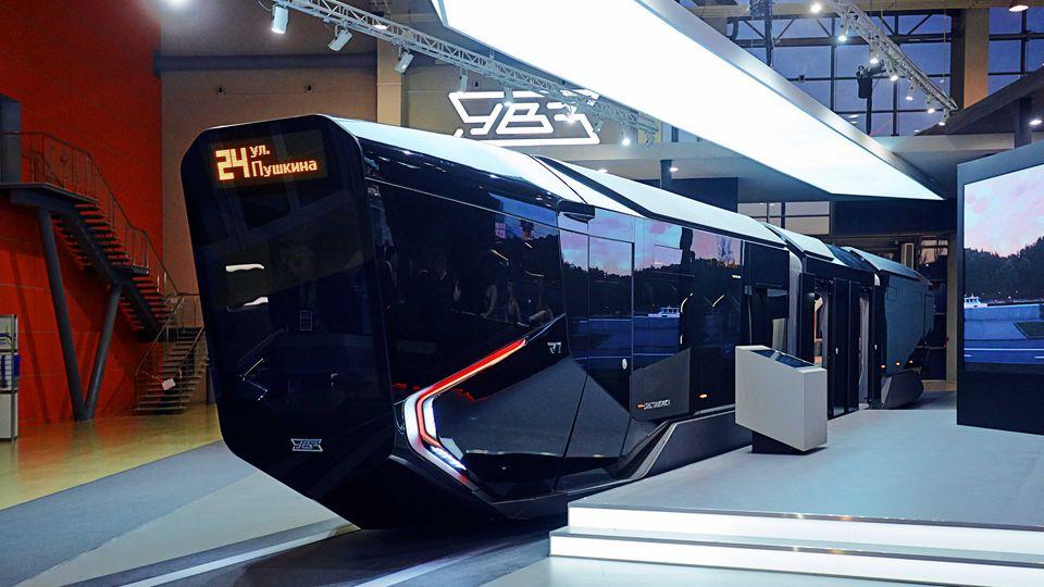 Die R1 wurde 2014 auf einer Messe vorgestellt, nun sind die ersten Exemplare im Testbetrieb.