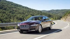 Der Jaguar XF ist sportlich abgestimmt