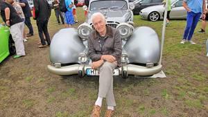 Eberhard Schulz und sein wahr gewordener Traum Autobahnkurier 116i.