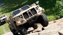 Der Allradantrieb vonOshkosh wurde bereits bei 27.000 Militärfahrzeugen verbaut,