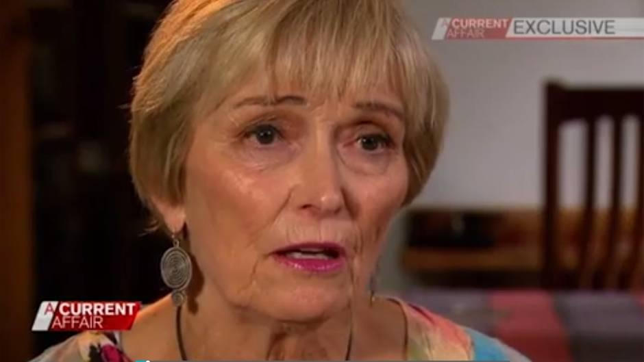 """Joy Nason erzählt ihre Lebensgeschichte in der australischen Sendung """"A Current Affair"""""""
