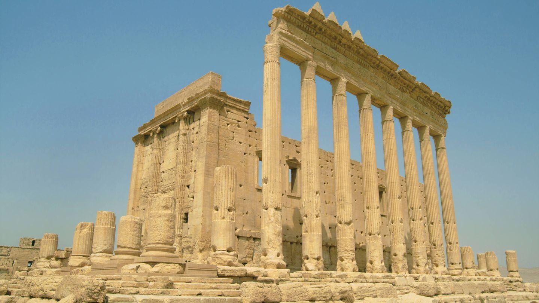 Vor wenigen Tagen sprengten Islamisten den Baaltempel in Palmyra (Archivbild)
