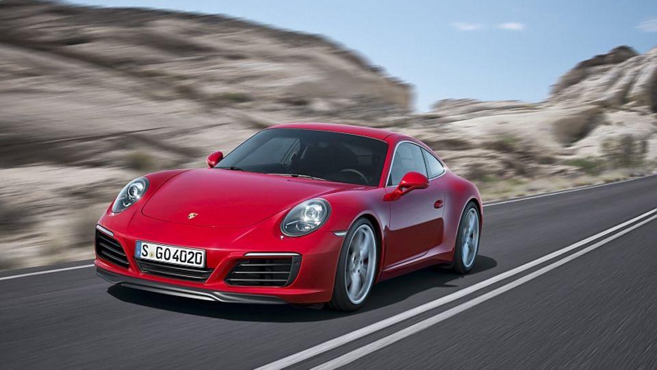 Porsche 911 Modellpflege 2016 - mit neuer Turbotechnik