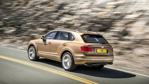 Bentley Bentayga - kostet mindestens 200.000 Euro