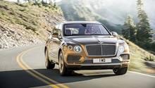 Bentley Bentayga - startet im ersten Quartal 2016