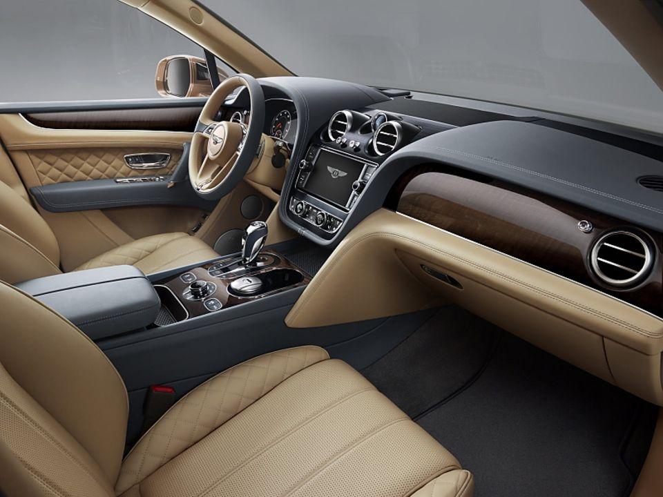 Der Innenraum des Bentley Bentayga
