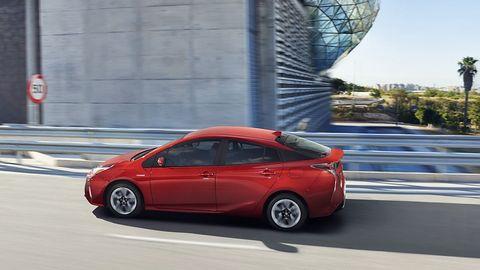 Toyota Prius 2016 - das Design wurde mit dem vom Mirai vereint