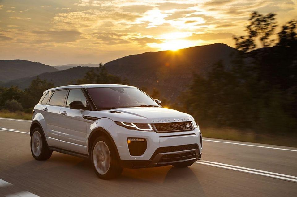 Der Range Rover Evoque ist mit dem 180-PS-Diesel 200 km/h schnell