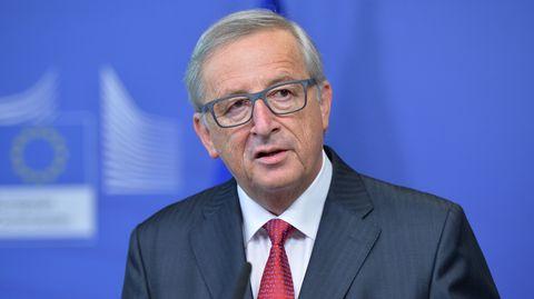 EU-Kommissionspräsident Jean-Claude Juncker präsentierte in Straßburg die Maßnahmen zur Flüchtlingspolitik