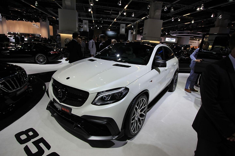 Gerade erst auf dem Markt in seiner Basisversion und schon von Brabus veredelt ist der Mercedes GLE 63.