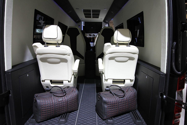 Viel Raum für Luxus findet sich im Mercedes Sprinter von Brabus.